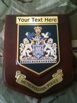 Metropolitan Police Force Personalised Civic Wall Plaque
